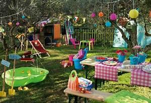 Jeux Exterieur Anniversaire : d co jardin colore ~ Melissatoandfro.com Idées de Décoration