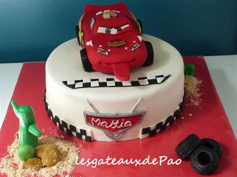 decoration gateau flash mcqueen flash mcqueen tcha tchaooooo les gateaux de pao