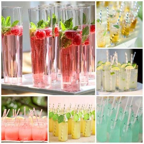 drinks zur hochzeit wedding fruitdrinks sektempfang