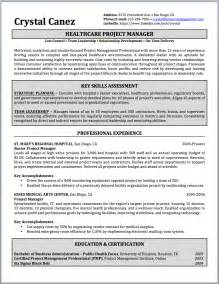 writing a winning resume competency b7 project manager resume sle and writing guide resumewriterdirect