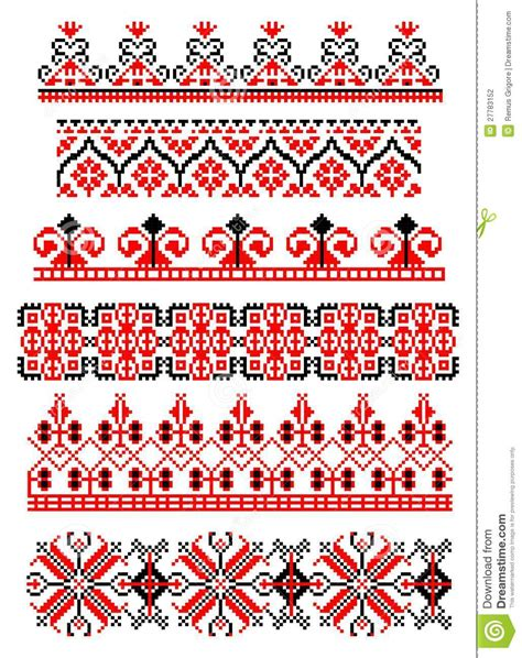 Carpet Tapestry by Romanian Traditional Theme Cdr Format Stock Photography