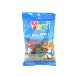 Yupi Gummy Candies Baby Bears 45g klikindogrosir