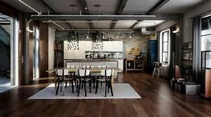 10, Modern, Industrial, Style, Interior, Design, Ideas