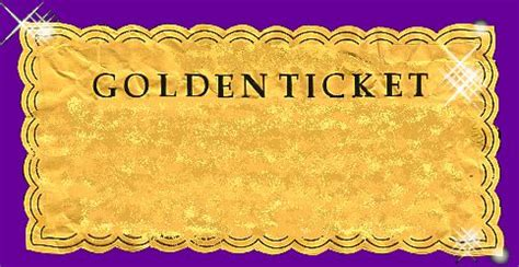 Blank Golden Ticket Template by Golden Ticket Form Time Ideas Golden