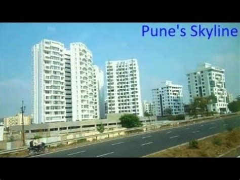 indian mega cities pune skyline     city
