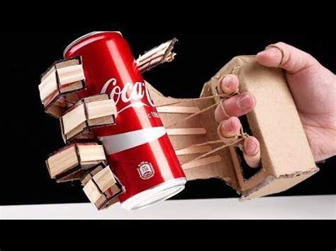 hydraulic powered robotic arm  cardboard