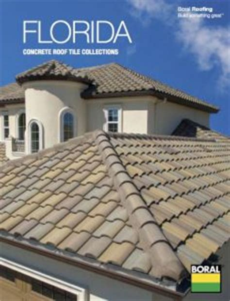 boral roofing introduces florida concrete roof tile