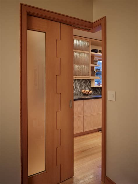 sliding interior doors completing modern interior