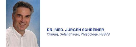dr juergen schreiner wwwgefaesschirurgie dachaude
