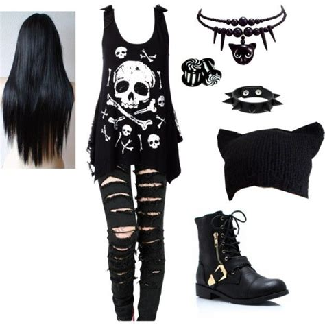 Punk outfits - Google Search   Clothing   Pinterest   Girl outfits Punk and Girls