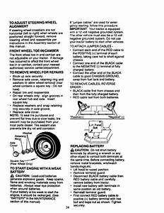Craftsman 917270850 User Manual Lawn Tractor Manuals And