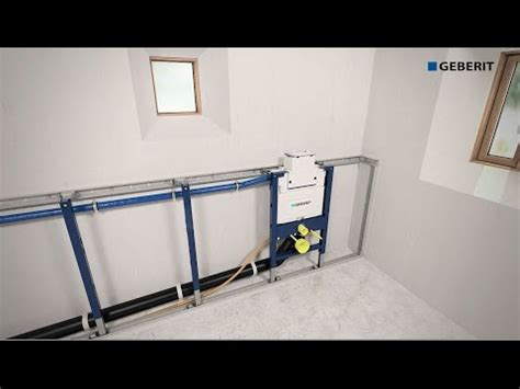 geberit duofix frame for wall hung wc h82 with omega cistern 12cm