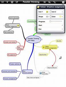 App ideen festhalten und entwickeln mit ithoughts hd for Ithoughts hd ipad app review