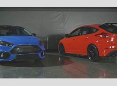 Ford Focus RS Limited Edition Gets Red Paint And Front