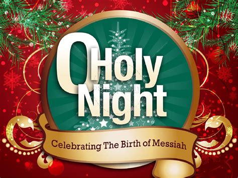 holy night powerpoint christmas powerpoints