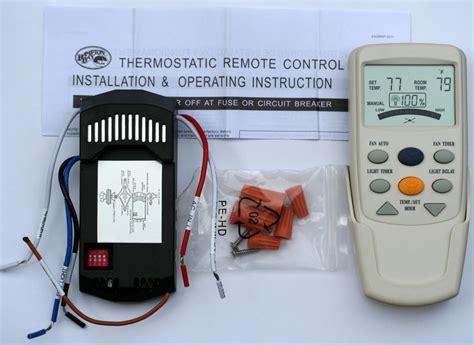 control ceiling fan with alexa hampton bay ceiling fan lcd thermostatic remote control