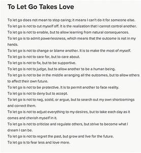 Information About Letting Go Of Love Poems Yousenseinfo