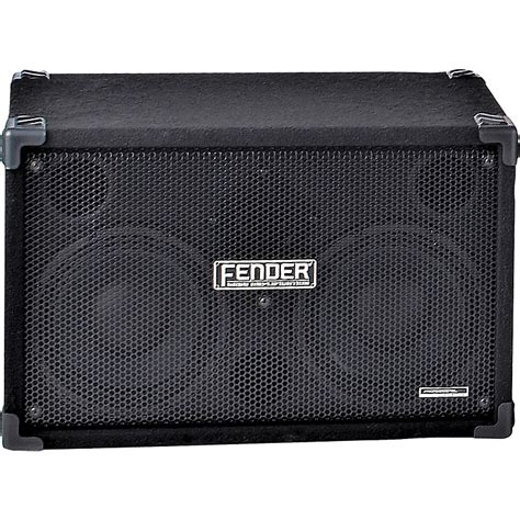 2x10 bass cabinet 8 ohm fender 210 pro 2x10 bass cabinet music123
