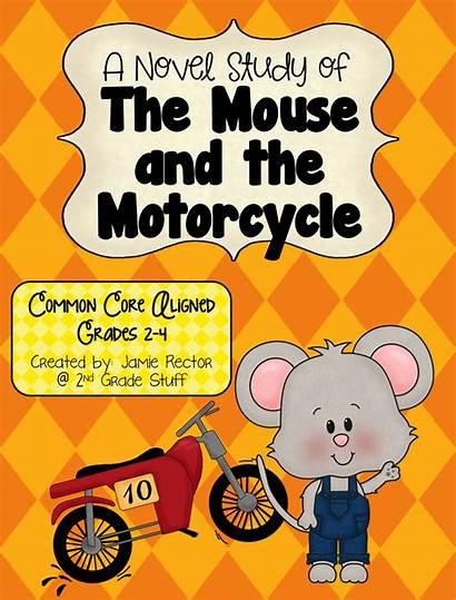Study Mouse Motorcycle Novel Overload Grade 2nd