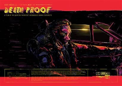 Proof Death Poster Kinetic Mike Stuntman Behance