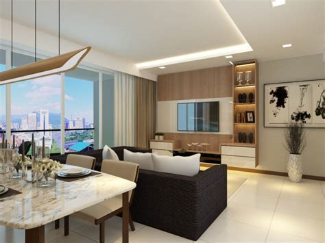 Bartley Residences Interior Design ? Foyer and Living Hall
