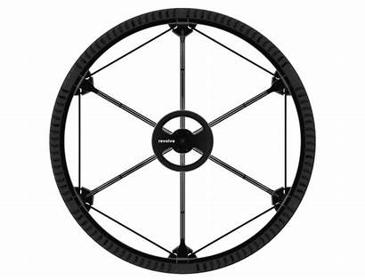 Wheel Revolve Collapse Andrea Airless Smaller Compact
