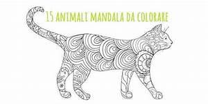 Mandala: 15 animali da colorare (scarica gratis) greenMe