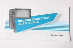 Generic Bounce Flash Instruction Owners Manual Guide Book