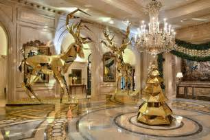 christmas decor at four seasons hotel luxury topics luxury portal fashion style trends