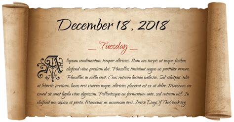 What Day Of The Week Was December 18, 2018? Art Nails Elgin Paint Software Stencil From Photo Coffee Tips Littleton Print Paper A4 Painting Artist Jacket
