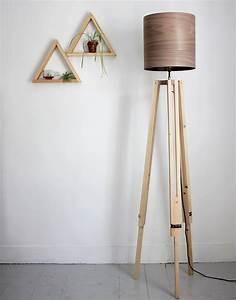 Diy, Tripod, Floor, Lamp