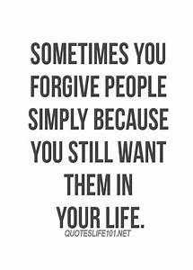 Top 25 forgiven... Forgiving Relationship Quotes