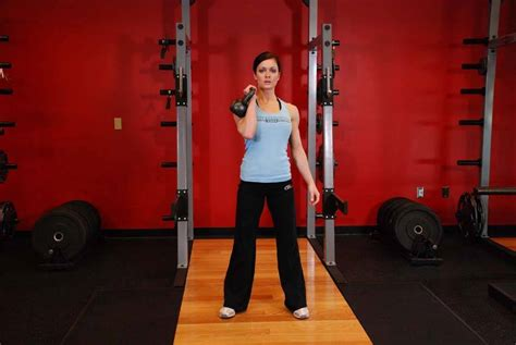 hang clean kettlebell exercises exercise