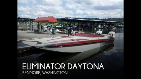 Kenmore Boat Sales by Used 1988 Eliminator Daytona For Sale In Kenmore