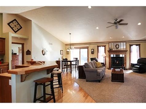 manitowoc homes  sale open concept ranch open house youtube