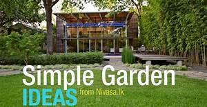 Simple Garden Ideas for your Home Sri Lanka Home Decor