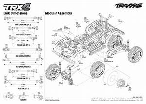 Exploded View  Traxxas Trx-4 Ford Bronco 1 10 Tqi Rtr