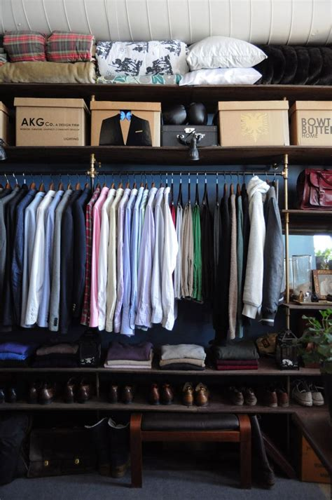 Apartment Therapy Closet by Arthur Kristin S Vintage Loft Closet His