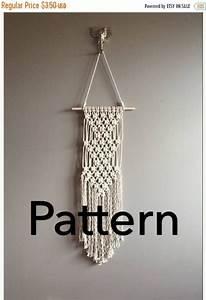 Triple Artemis Macram U00e9 Pattern Beginner    Pdf Diy Wall