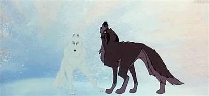 Dog Wolf Howling Balto Gifs Snow Animated