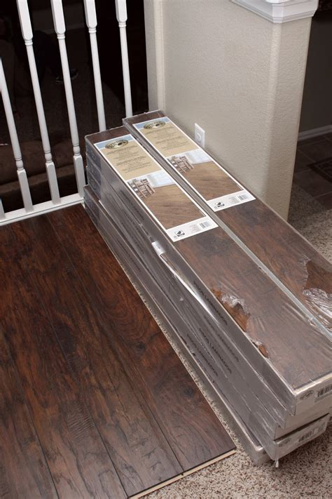 Our Modern Homestead Diy Laminate Wood Flooring Project