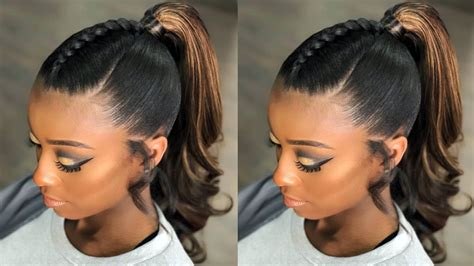 Easy Ponytail Hairstyles For Black Women