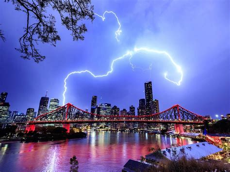Winds s 25 to 35 km/h becoming light in the late evening. Brisbane weather: Reprieve as storm activity moves ...
