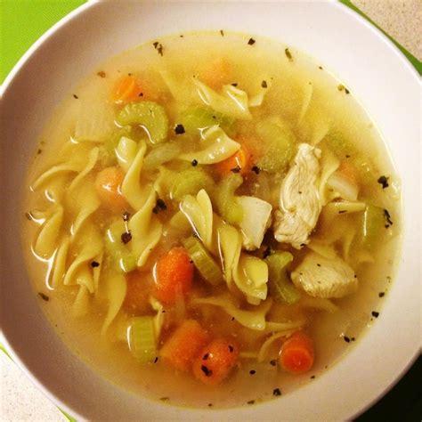 quick chicken noodle soup recipe  recipes uk