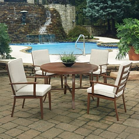 key west 5 pc outdoor dining table 4 chairs