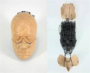 Anatomical sculptures by claude olivier guay artpeoplenet for Anatomical wire sculptures claude olivier guay