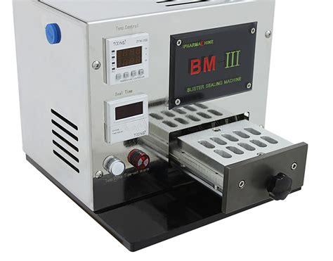 bm iii mini manual blister packing machine sinopham