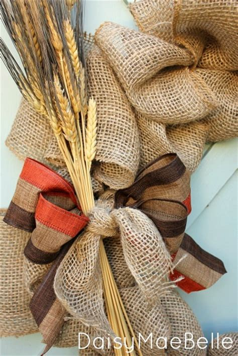 hometalk     burlap wreath  step  step