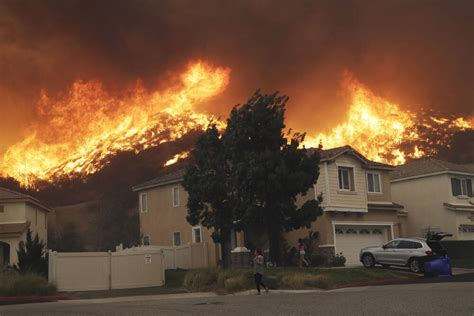 crews battle  stubborn southern california wildfire