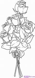 How to Draw Roses, Step by Step, Flowers, Pop Culture